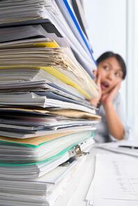 Backlog of Enrollment forms for Covered California