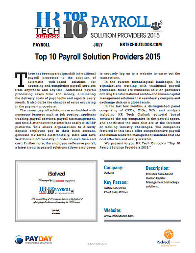 HR-Tech-iSolved-Top-10-Payroll-Solution-Providers-2015