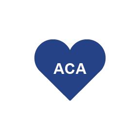 ACA Heart Icon.